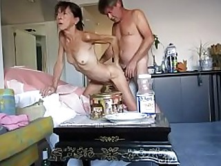 Amateur Doggy Style Granny Small Tits Little Mammy Mature Slender