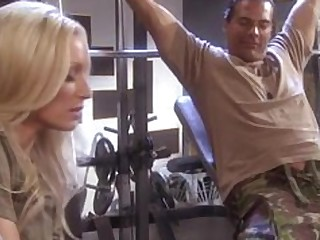 Blonde Boss Fuck Hot MILF Seduced Sport